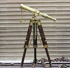 Maritime Shiny Brass Table Telescope Vintage Mini Desktop telescopes Home Decor