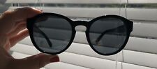 Chanel black and grey mirrored sunglasses 5356