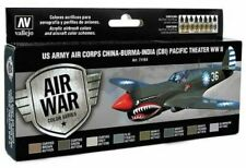Av Model Air: Us Army Corps China-Burma-India Pacific Theater Wwii 8 Bottle Set