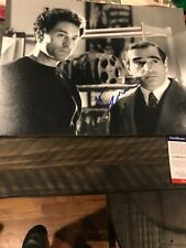 Autographed Martin Scorsese 11x14 raging bull photo Psa certified signed