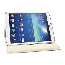 """Carcasas, cubiertas y fundas blanco de piel para tablets e eBooks 8"""""""