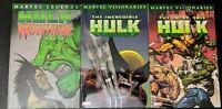 Hulk visionaries vol. 2,4-marvel legends vol.1 hulk vs wolverine:six hours