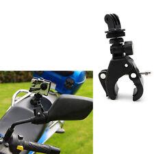 Bike Handlebar Roll Clamp Bar Mount +Tripod Adapter For GoPro Hero 2 3+ 4 Camera