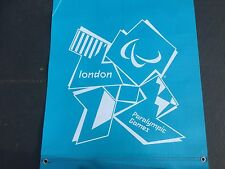 LONDON Paralympics Olympics 2012 Blue Sign Banner Mint Olympic Memorabilia  2.2m