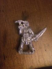 Rogue Trader Adventurers Pirate Hand Crossbow & Chainsword   Rare Warhammer 40k