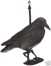 Spaventa Crow Uccelli Colombe di Plastica Giardino Attico Terrazzo 38 Cm Alto