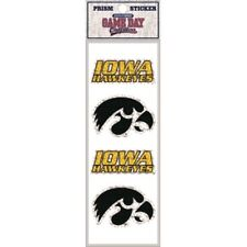 Iowa Hawkeyes 4 Count Prism Sickers - NCAA Decals Prismatic Bling Pack