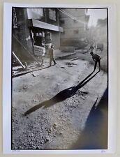 Photo François Dupuy - Népal 1990 - Tirage argentique 30x40 baryté -