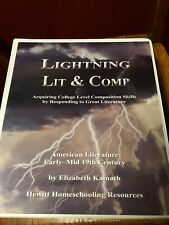 Lightning Lit & Comp: American Literature Early-Mid 19th Century, By Kamath