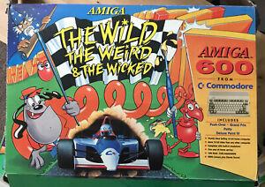 AMIGA 600 - Boxed Weird Wild Wicked