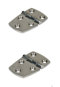 Stainless Steel Hinges, 316g Strap Hinge, Sold as a pair