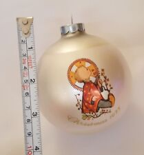 1975 Christmas Child xmas holiday Ornament by Sister Berta Hummel Schmid vtg