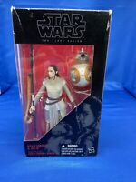Star Wars The Black Series Rey and BB-8 ~ 6in Action Figure #02 ~ Hasbro ~ NIP