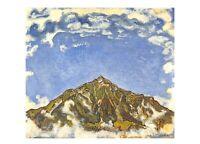 Art Postcard, The Niesen from Heustrich (1909) by Ferdinand Hodler BD2