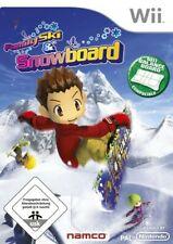 Nintendo Wii Spiel - Family Ski & Snowboard mit OVP