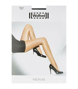 Wolford Neon 40 Tights, Luxury Brand New with Seal Sticker Tag.