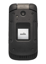 New Overstock Sonim XP380 Solid Rugged Flip Phone Black For Sprint Network