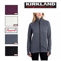 NEW! Kirkland Signature Ladies' Women's Full Zip Jacket VARIETY SZ/CLR - D43