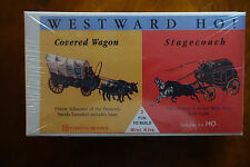 GLENCOE #3601 COVERED WAGON & STAGE COACH MODELS, 1/90TH SCALE, NEW IN BOX