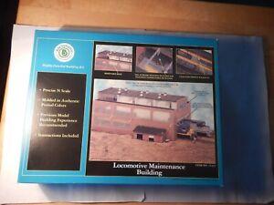 Bachmann Locomotive Maintenance Building Kit, Item No. 15163, n-scale