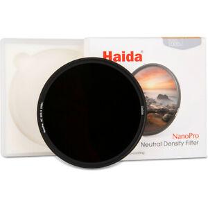 Haida 82mm NanoPro - Multi-Coated Neutral Density ND 3.0 (ND1000) Filter 10 Stop