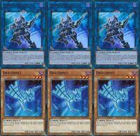 Decode Talker* X 3 1st mint Ultra Rare YS17-EN041 YUGIOH + Draconnet* X 3