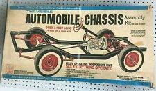 Vintage RENWAL Model Kit The Visible Automobile Chassis No. 813 Appears Complete