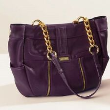 Miche Demi Shell Annistyn Purple with Gold Zipper Accent New in Package