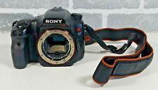 Sony Alpha SLT-A57 16MP Digital SLT DSLR Camera Body Black SLT-A57 *ISSUE READ*