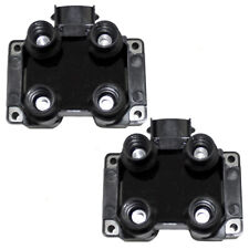 Pair Set Ignition Spark Coil Pack Modules for Ford Pickup Lincoln Mercury V8