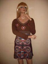 Boho Damenkleider mit Paisley-Muster