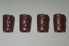 21306 Antebrazo marrón oscuro 4u playmobil,medieval,arquero,archer,warrior