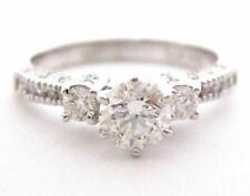 1.09 Tcw Round Diamond Solitaire Engagement/Anniversary Ring Size 7 G Vs2 14k