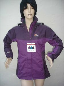 Ladies Wineberry Lowe Alpine Cedar Ridge Triplepoint Waterproof Jacket Size 10
