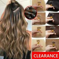 300S REAL THICK 100% Remy Human Hair Extensions Micro Loop Nano Ring Bead Tip 15