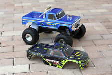 Traxxas Bigfoot Muddy Monster Body 1/10 Truck Body Shell Cover 3660 3619 TRA3658