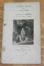 1817 Antique Print/COTTAGE BEAUTY/Table Talk