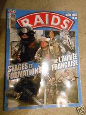 Raids magazine  Hors série N°17 Stages et formations armée française