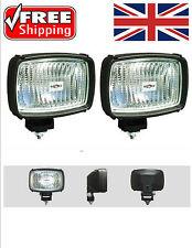 160x110mm HALOGEN H3 CAR SPOT LAMP WORK REVERSE ROOF BAR LIGHT TRACTOR LORRY>