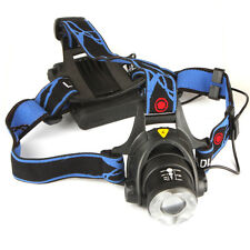 1600LM CREE XM-L T6 Zoomable Headlight Hunting Head Lamp Torch Lamp Flashlight