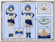 Japan Anime Puella Magi Madoka Magica Sayaka Miki Costume