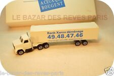 Camion GMC semi  MAJORETTE promotionnel RANK XEROX + boite