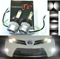 LED Kit N 72W PS19W 12085 5201 6000K White Two Bulbs Daytime Light DRL Upgrade