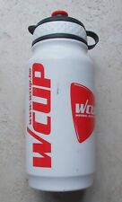 Bicycles water bottle  Tacx WCUP road bike pro team cycling 2006 white red #2