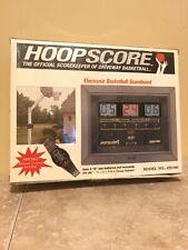 New Hoopscore Driveway Basketball Outdoor Electronic Scoreboard Jh1000 W/ Watch