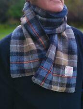 Harris Tweed Fleece Lined scarf McKenzie check