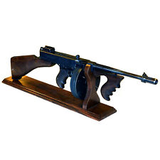 Stand for The Submachine Thompson (Tommy Gun) - Natural Wood (Hornbeam)