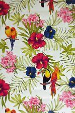 Wachstuchtischdecke Tischdecke Papagei  /Vogelmotiv 140 cm  x 100 cm
