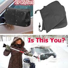 2x Car Rear View Side Mirror Frost Guard Snow Ice Winter Waterproof Cover SetOEM