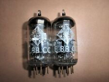 Telefunken E88CC superb matched pair (= 6922) <>diamond High Emission AVO tested